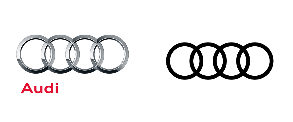 Brand New: New Global Identity for Audi by Strichpunkt and