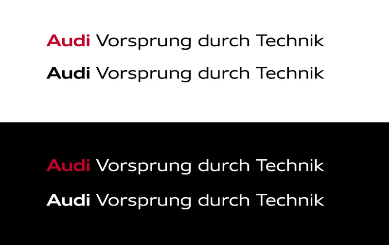 New Global Identity for Audi by Strichpunkt and KMS TEAM