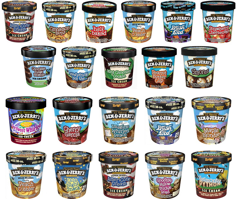 Vermont Ben Jerrys Ice Cream