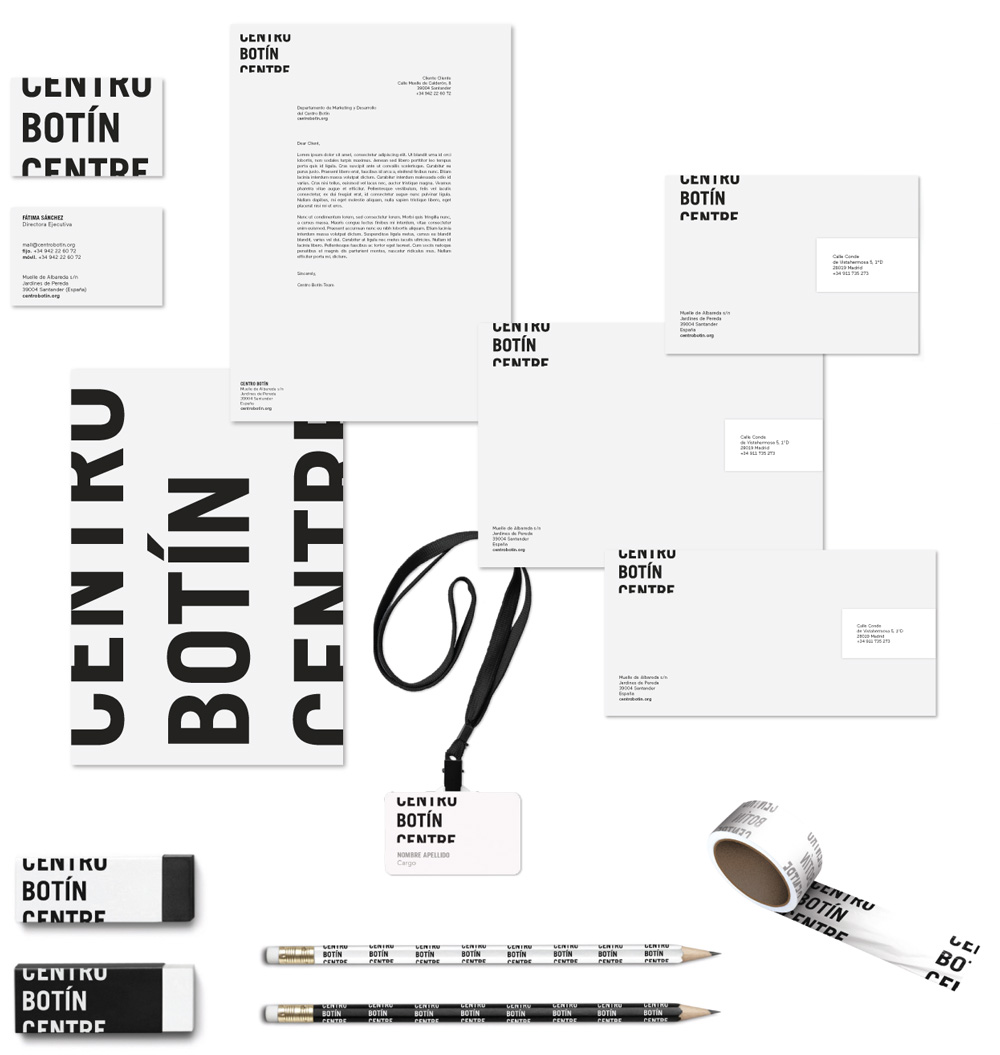 Brand New: New Logo and Identity for Centro Botín by 2x4