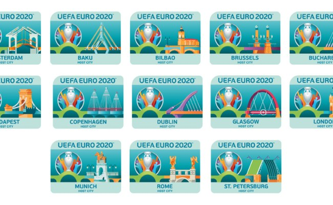 Brand New New Logo And Identity For Uefa 2020 By Y R