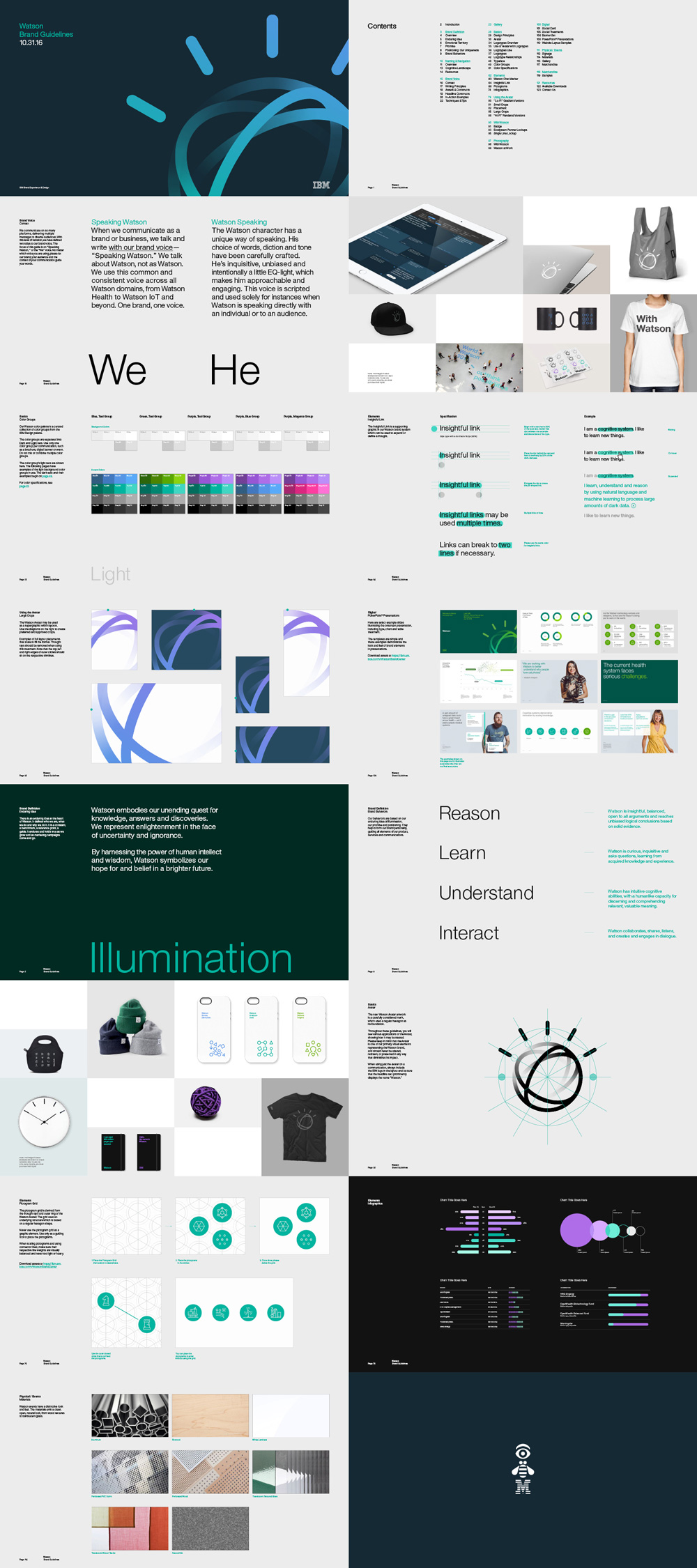 New Logo and Identity for IBM Watson done In-house (with others)