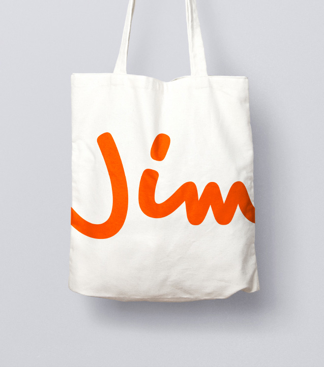 New Logo and On-air Look for Jim by CapeRock