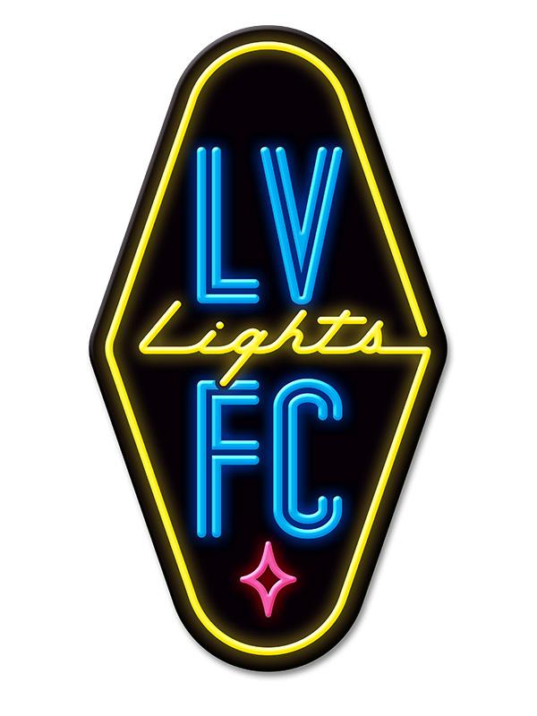 Brand New New Logo for Las Vegas Lights FC