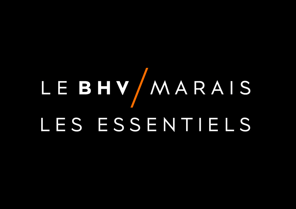 New Name, Logo, and Identity for Le BHV / Marais by Publicis Royalties