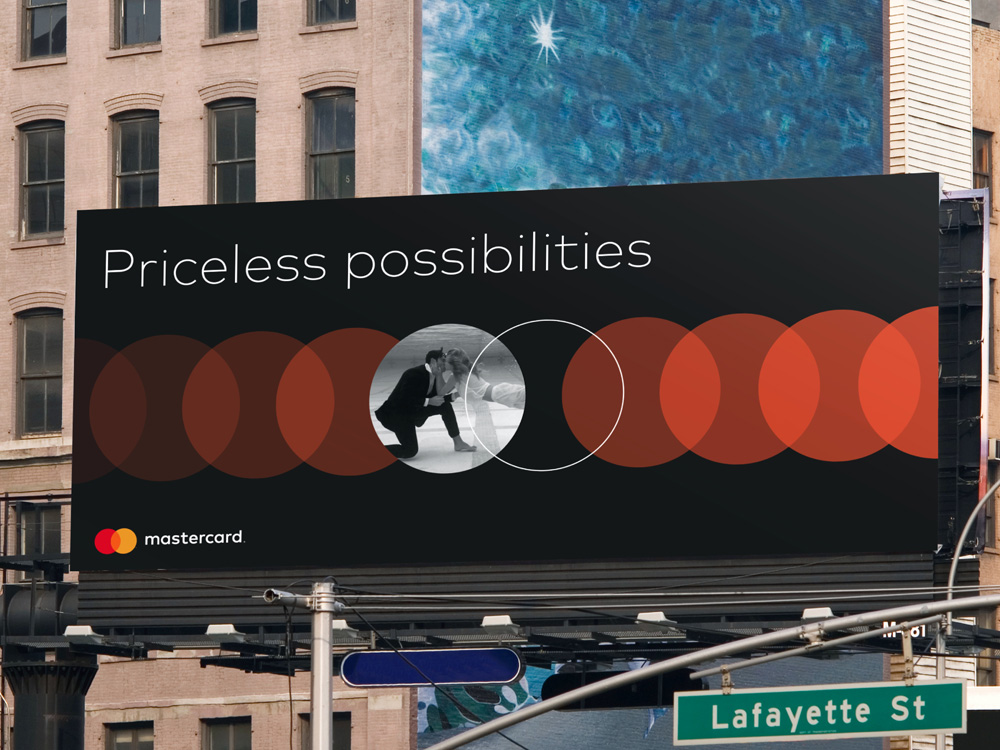 Brand New New Logo and Identity for MasterCard by Pentagram