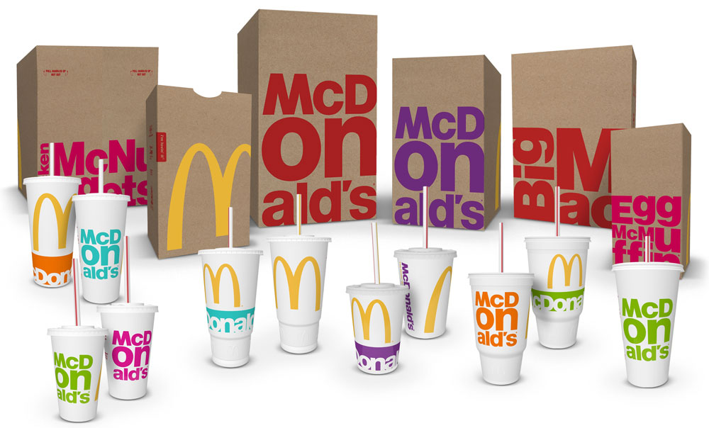 Brand New New Packaging for McDonalds by Boxer
