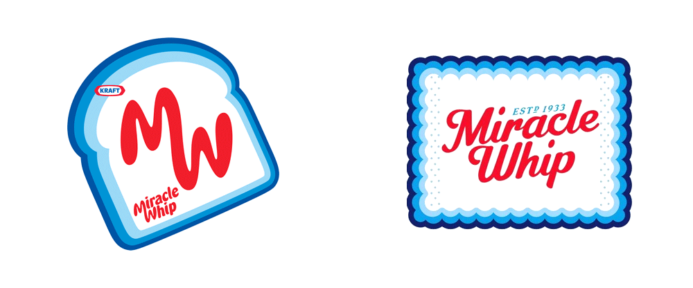 New Logo for Miracle Whip