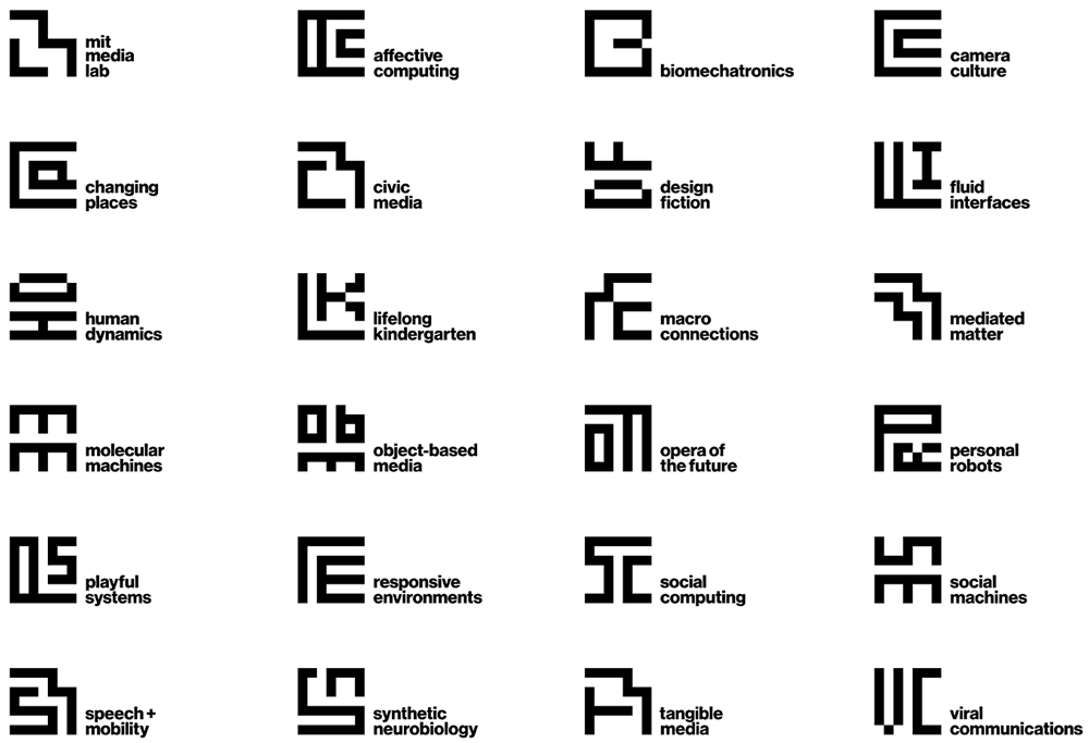 Brand New: New Logo and Identity for MIT Media Lab by