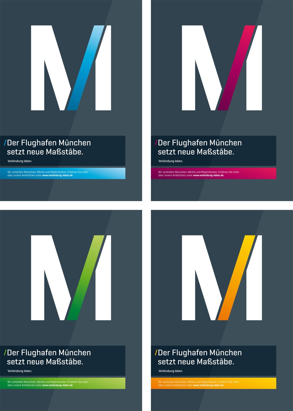 New Logo and Identity for Munich Airport by Interbrand