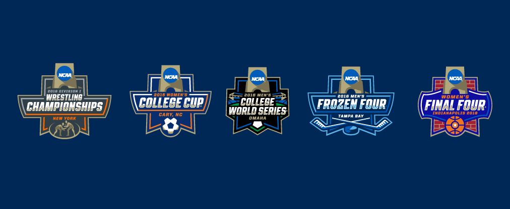 Brand New New Logos For Ncaa Championships By Joe Bosack Amp Co