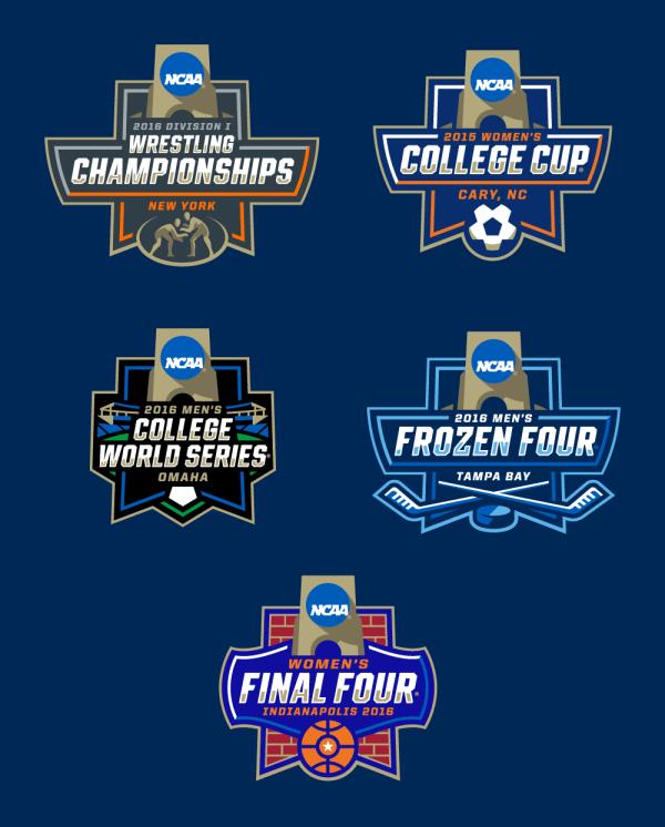 College Basketball Championship Logos