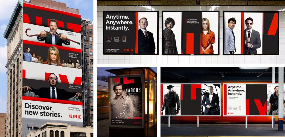 Brand New New Global Identity For Netflix By Gretel