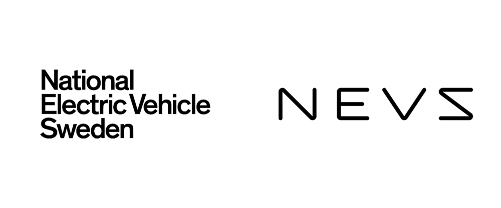 Brand New: New Name and Logo for NEVS