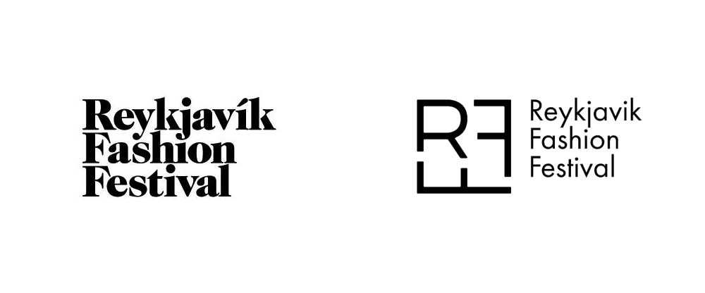 New Logo and Identity for Reykjavik Fashion Festival by Serious Business