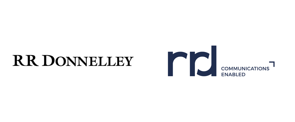 New Logo for RR Donnelley