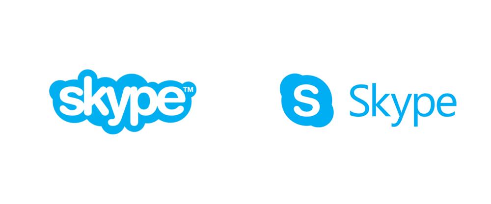 New Logo for Skype