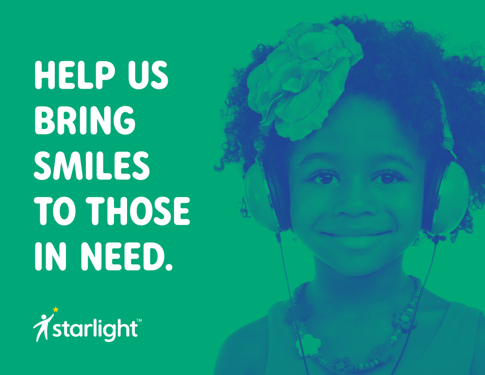 Brand New New Logo And Identity For Starlight Childrens Foundation By Convoy