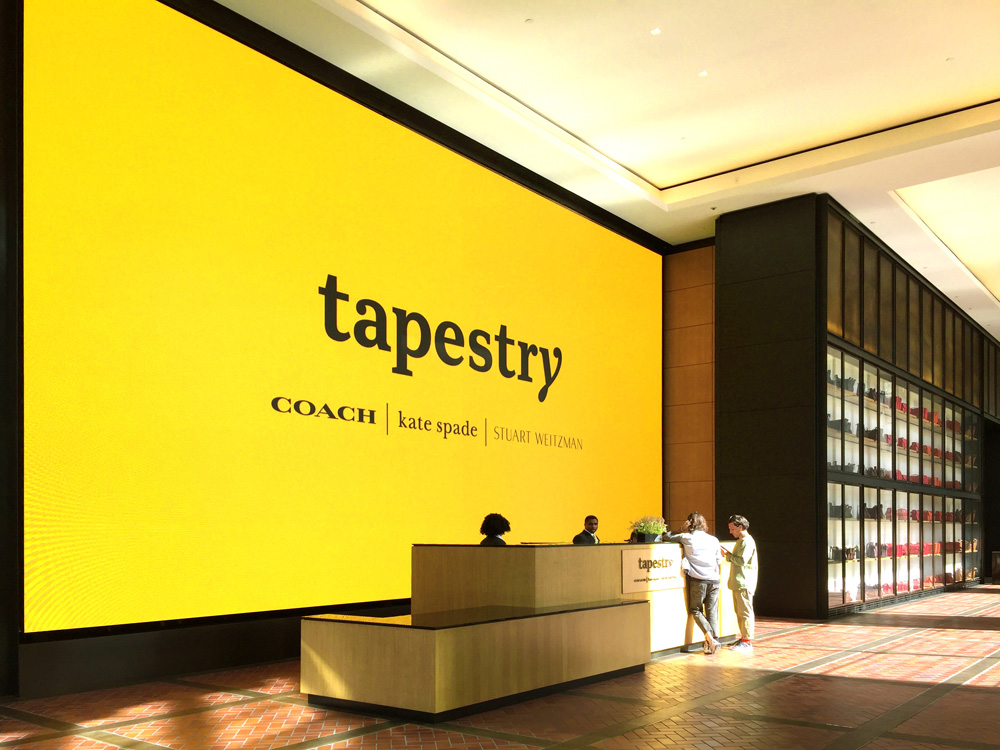 Brand New New Name Logo and Identity for Tapestry by Carbone Smolan Agency