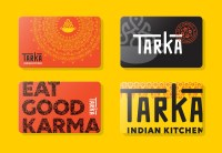 Brand New: New Logo and Identity for Tarka Indian Kitchen ...