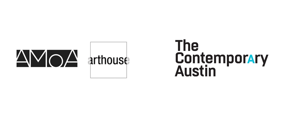 Brand New: New Logo for The Contemporary Austin by Pentagram