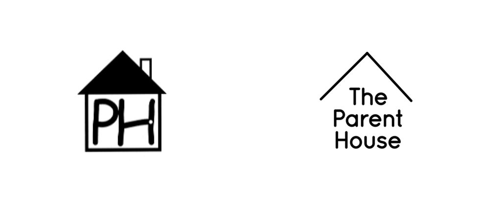 Brand New: New Logo and Identity for The Parent House by