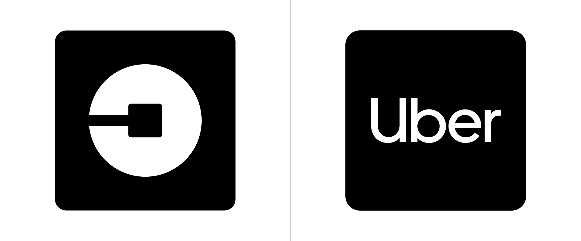 Brand New New Logo and Identity for Uber by Wolff Olins and Inhouse