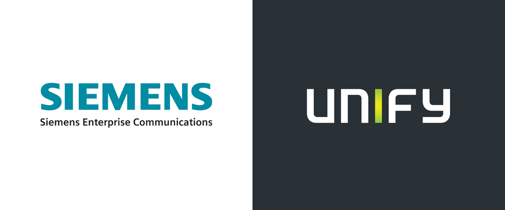 Brand New New Name Logo and Identity for Unify by McMillan