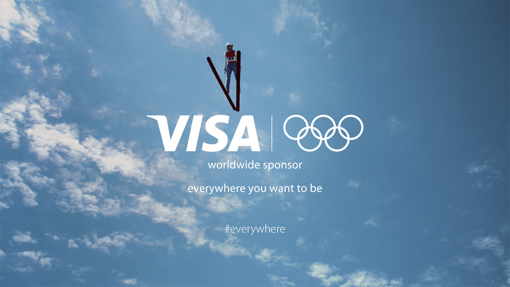 New Logo and Brand Positioning for Visa