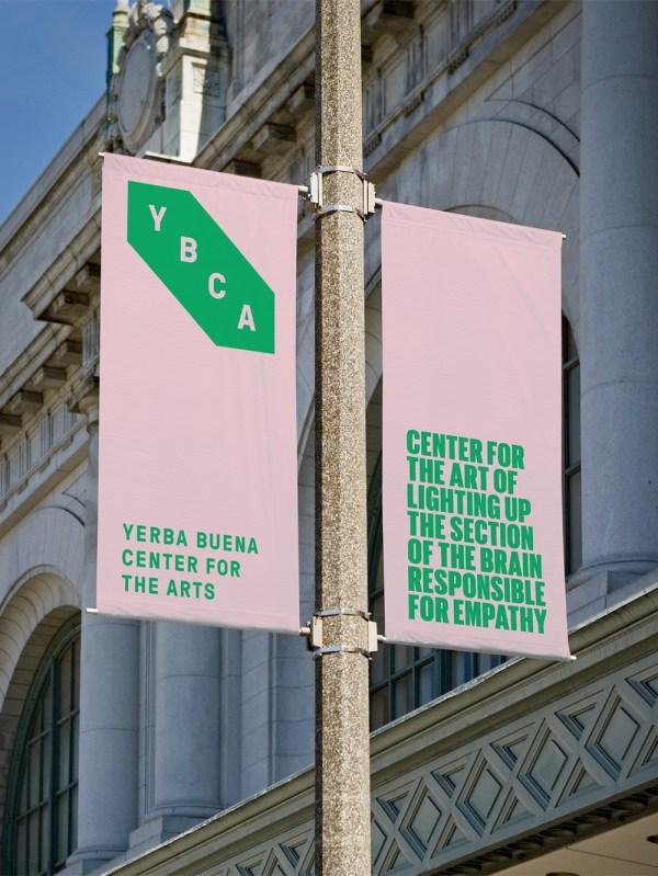Brand Logo And Identity Yerba Buena Center Arts Manual