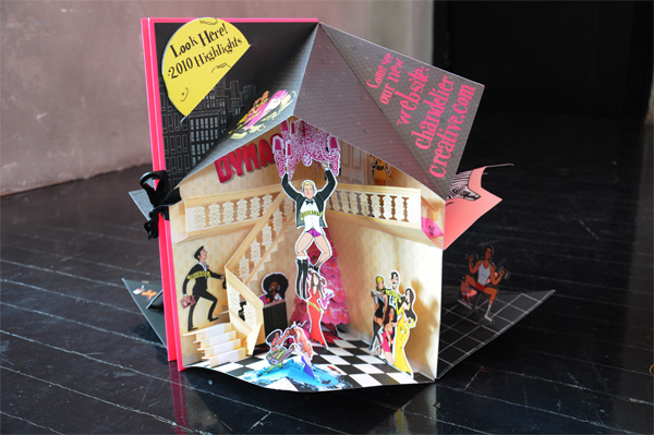 FPO Chandelier Creative Holiday Pop Up Card