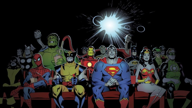 22980-superheroes-at-the-movies-2560x1600-funny-wallpaper