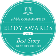 We Won! Edible Feast's 2015 Eddy Award