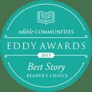 We Won! Edible Feast's 2015 Eddy Award