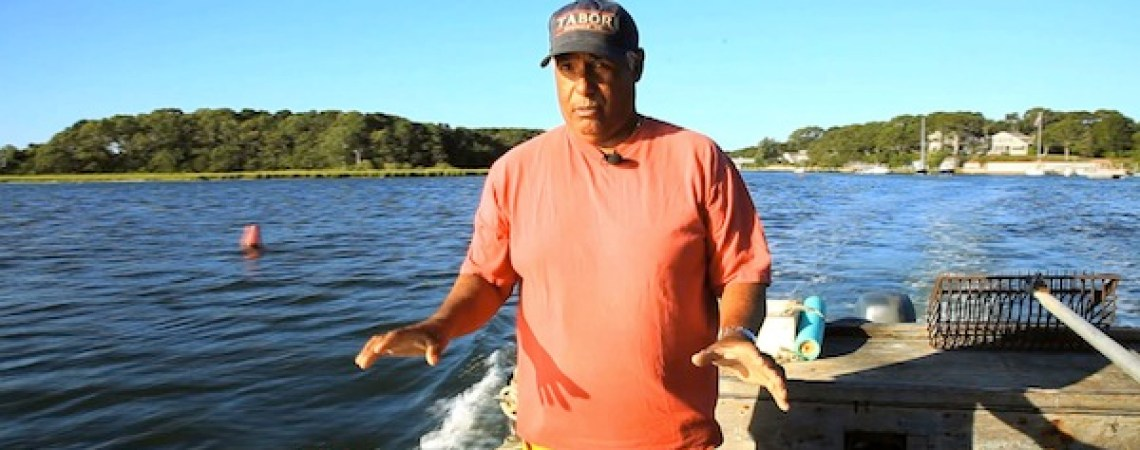 John Perry, a commercial shellfisherman from East Falmouth, MA, explains why the quahog habitat is disappearing in Waquoit Bay, where he has made a living for decades.