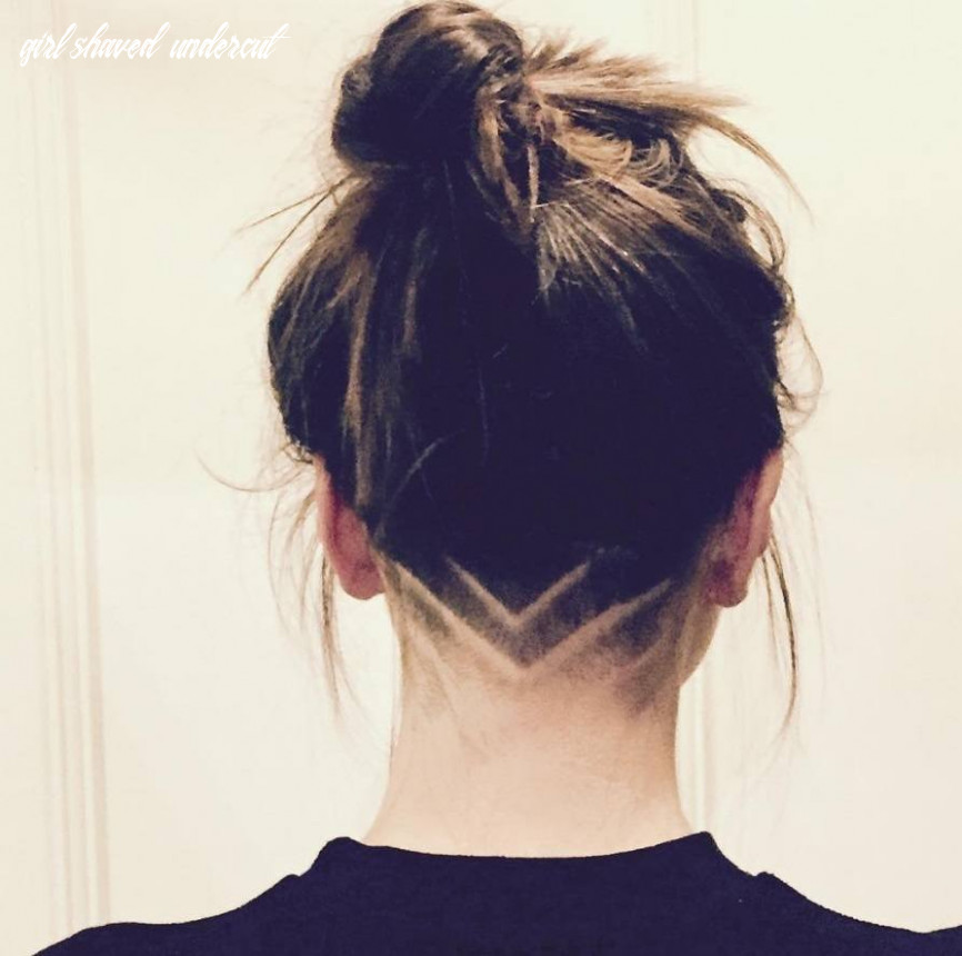 10 bold shaved hairstyles for women | shaved hair designs girl shaved undercut