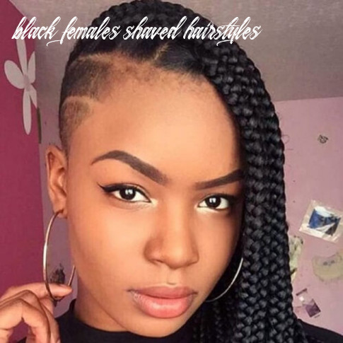 10 ultra cool shaved hairstyles for black women   hair motive hair