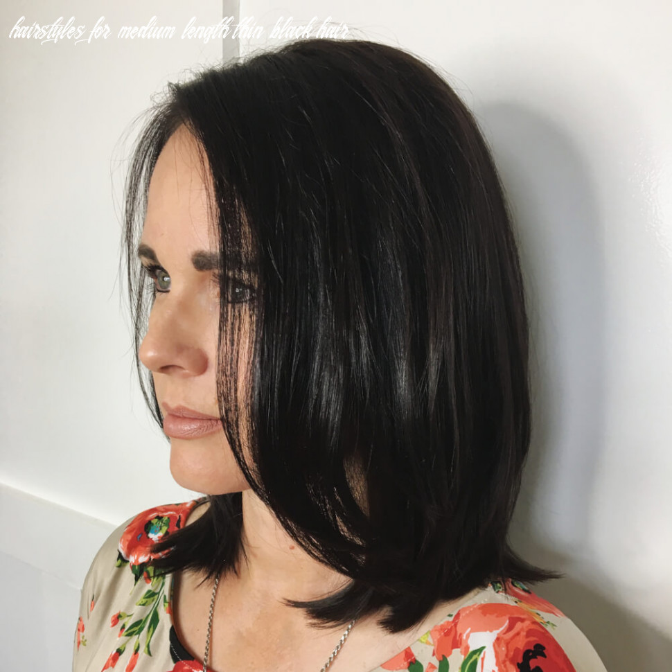 11 best haircuts for thin hair to appear thicker hairstyles for medium length thin black hair