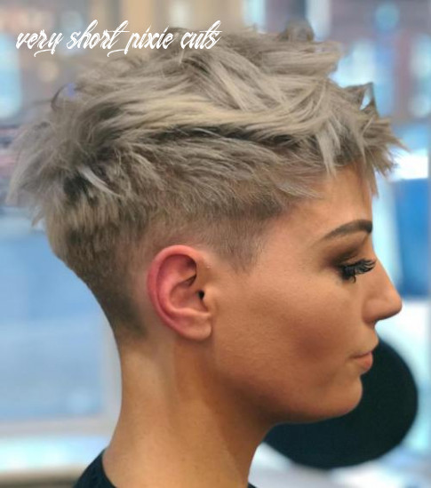 11 cute short pixie haircuts – femininity and practicality very short pixie cuts
