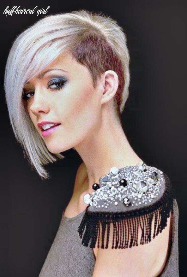 11 shaved hairstyles for women   punk haircut, half shaved hair