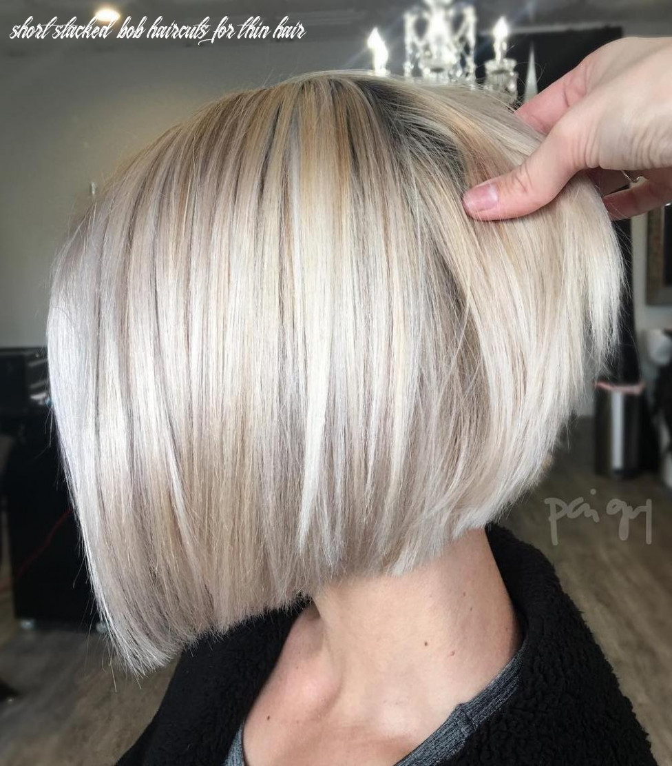 11 winning looks with bob haircuts for fine hair short stacked bob haircuts for thin hair