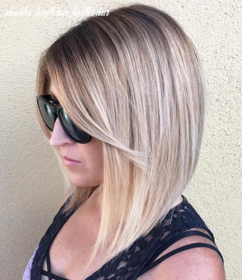 12 most dazzling medium length hairstyles for thin hair haircuts