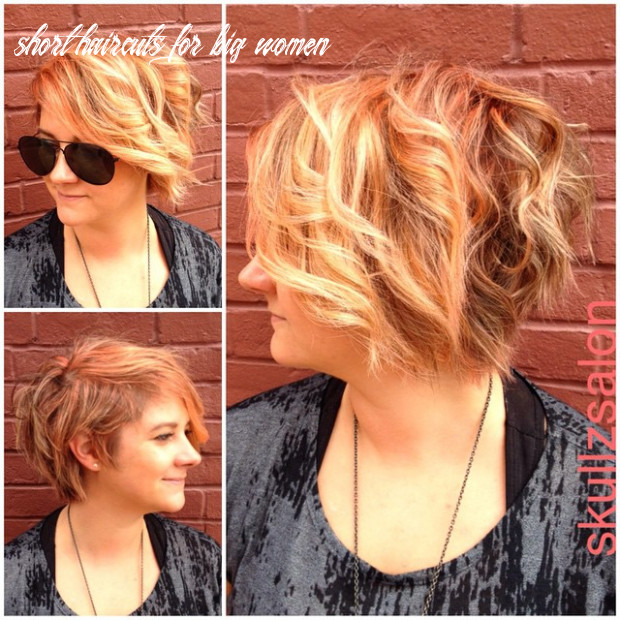 12 most flattering hairstyles for overweight woman [august, 12] short haircuts for big women