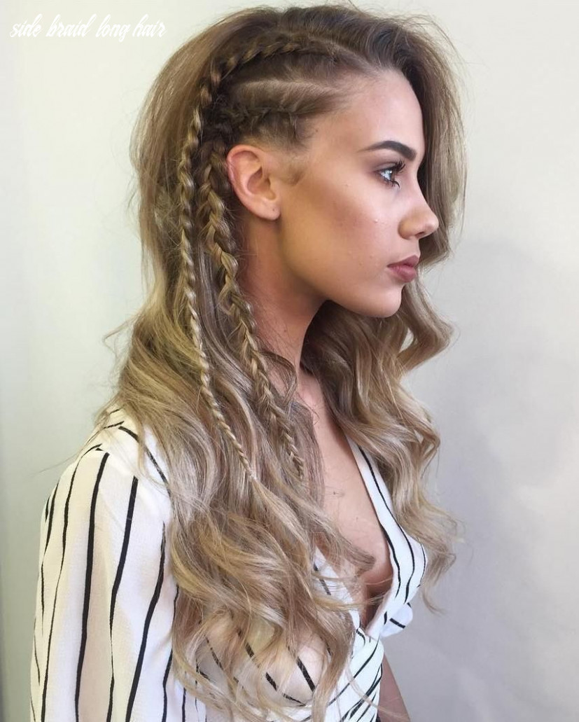8 braid hairstyles that look awesome | side braids for long hair