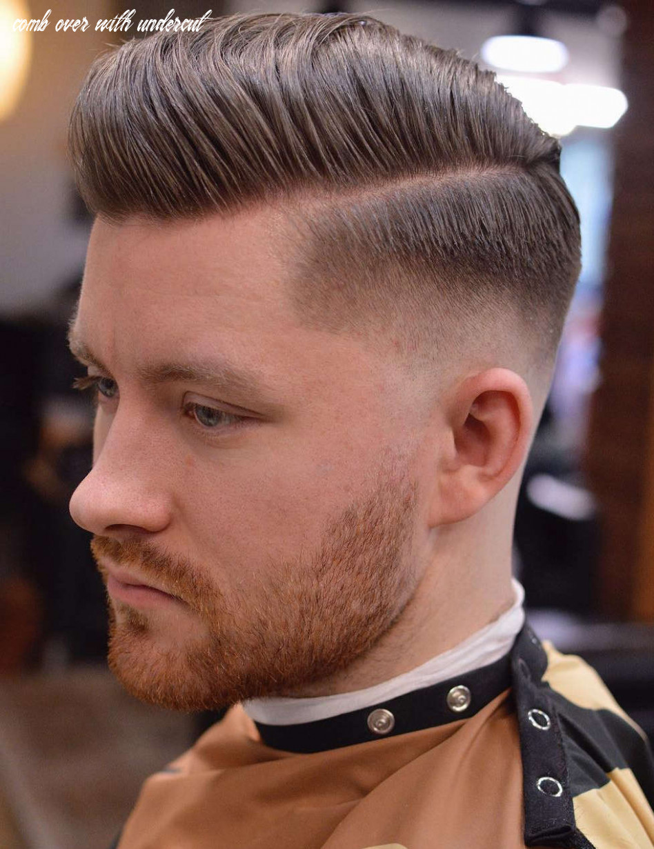 8 comb over haircuts: (not what you think!) comb over with undercut