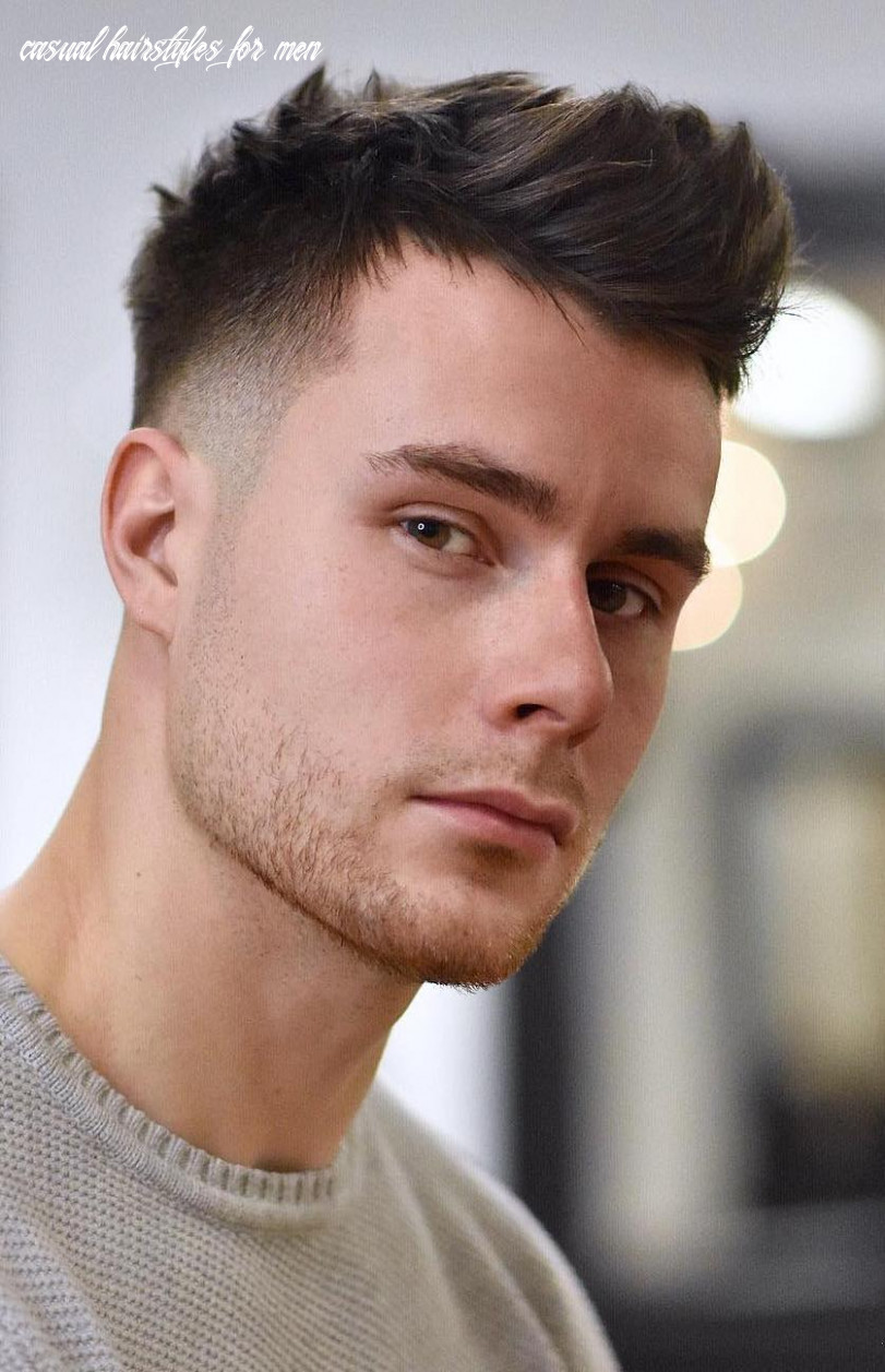8 crew cut examples: a great choice for modern men casual hairstyles for men