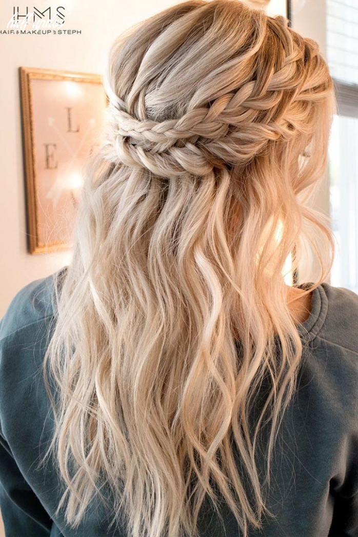 9 bridesmaid hairstyles(updos, half up half down, curls) for