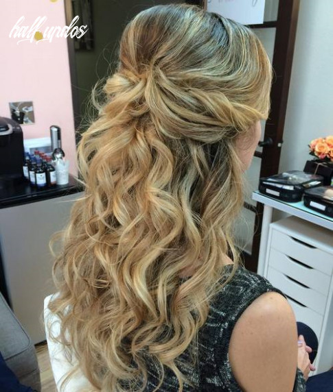 9 half up half down hairstyles for everyday and party looks half updos