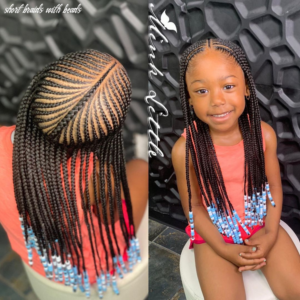 Braids for kids 11 kids braids with beads hairstyles short braids with beads