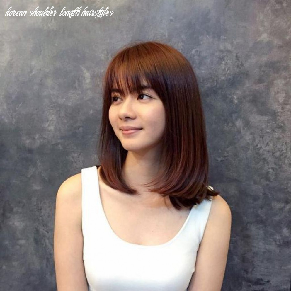 Image result for korean shoulder length hairstyles (with images